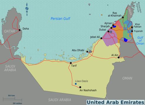 UAE_Regions_map